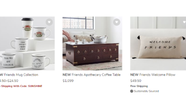 Could We Be Any More Excited The Friends Pottery Barn Collection Is Finally Here Wciv