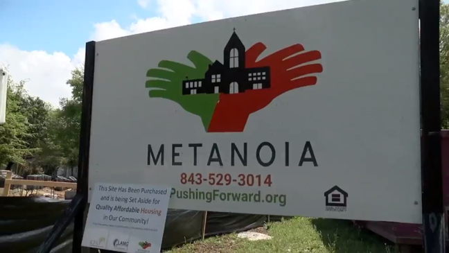 """Bill Stanfield, CEO of Metanoia, says it hopes to empower people with economic development projects, affordable housing, and leadership training. (WCIV)"""