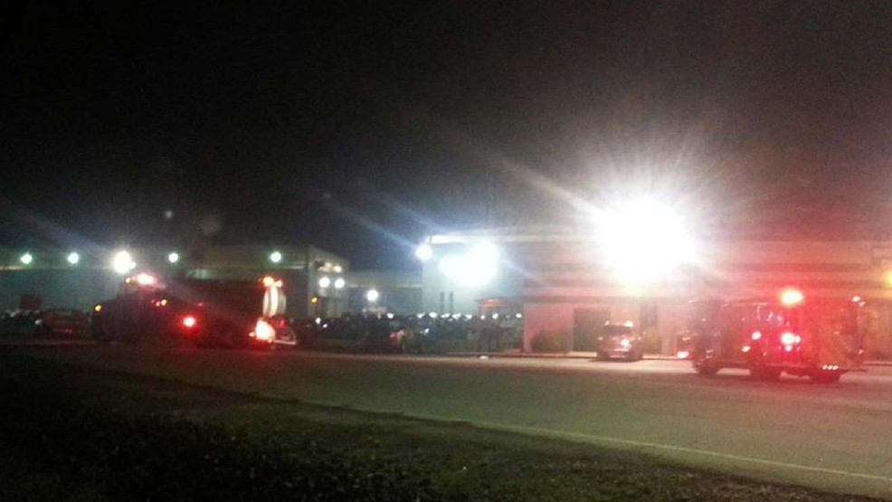 City fire department responds to reported plant fire at