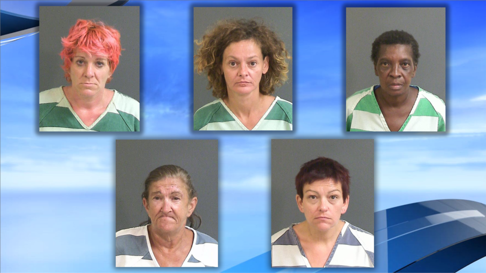 North Charleston prostitution operation leads to 5 arrests