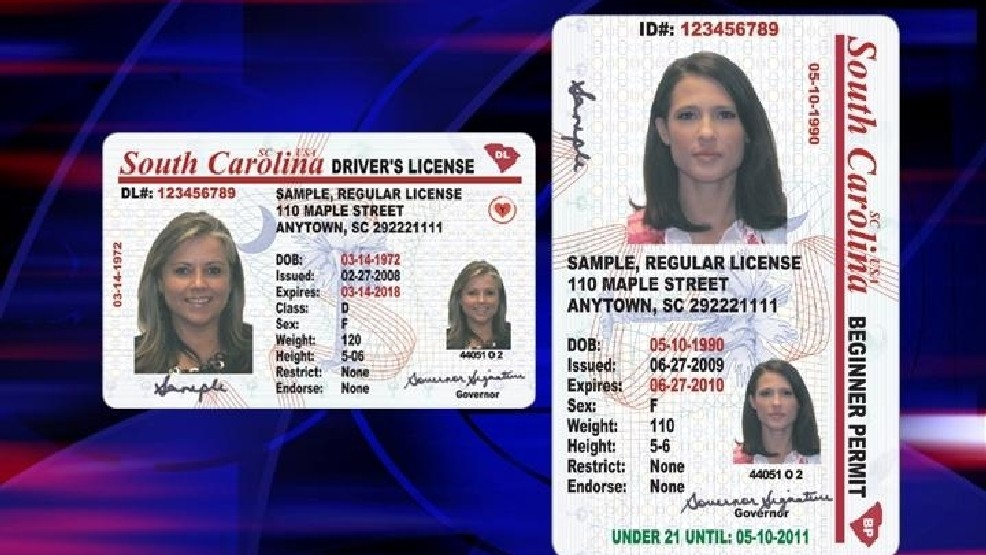 change address drivers license south carolina