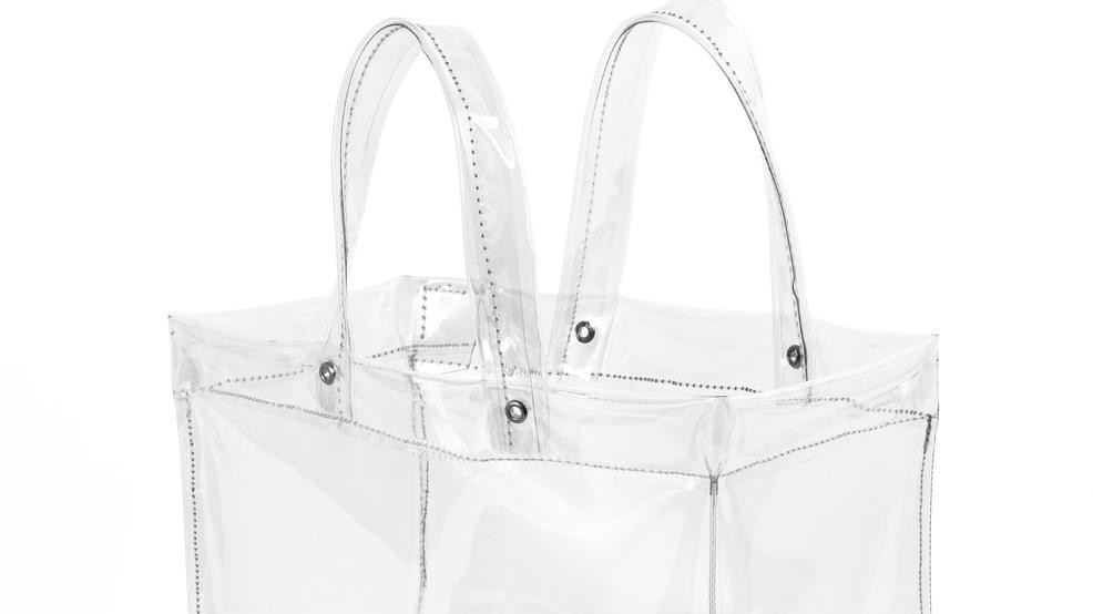 Image result for clear bag