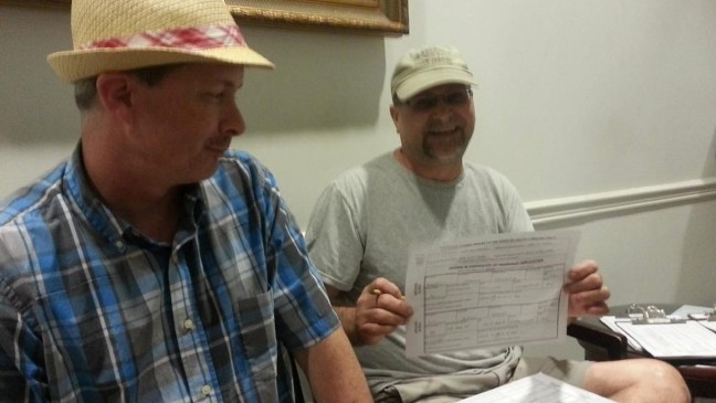 30 same sex couples apply for marriage in Charleston | WCIV