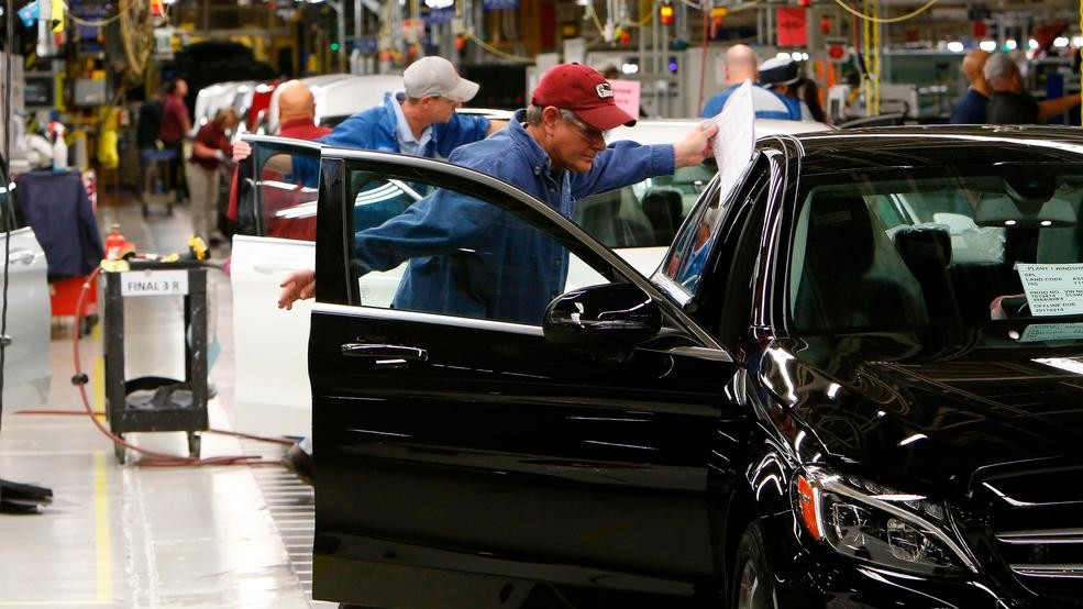 14 2017 File Photo Employees Do Embly And Quality Control Work On Automobiles At The Mercedes Benz Plant In Tuscaloosa Ala